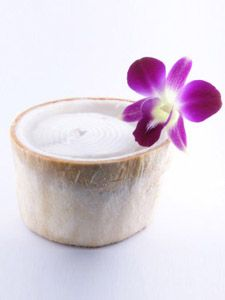 Haupia Coconut Pudding
