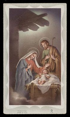 "santino-holy card""""ediz. FB serie 5 n.12 NATIVITA'"