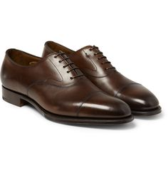 Edward Green - Chelsea Leather Oxford Shoes | MR PORTER