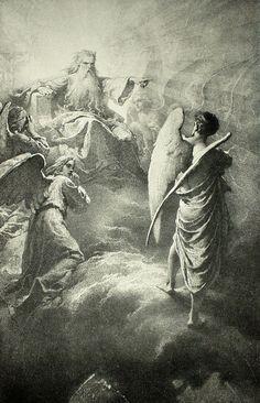 Mihály Zichy -. Lucifer,1887