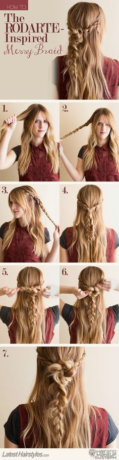 How to Chic: HOW TO DIY THE RODARTE INSPIRED BRAID TUTORIAL