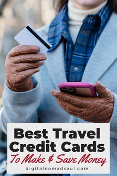 Are you looking for credit cards you can use for travel and business? With these popular and free travel credit cards, you can easily earn money and rewards and save money on purchases! Make sure to check them out! #travelhacks #digitalnomadlife #expats #creditcard #savemoney #passiveincome