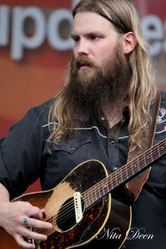 Chris Stapleton - amazing voice.  Added to my favourite country and bluegrass singers/musicians.  This folks, is real and pure vocal talent; the man is simply divine.