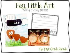 Hey, Little Ant! writing and craftivity** by The First Grade Parade