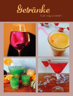 Drinks for your Halloween Dinner Party