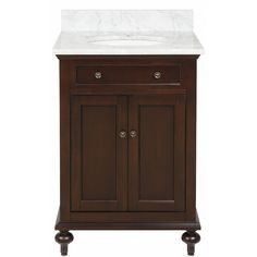 "Shop Kraftmaid 24"" Kaffe Summerfield Bartlett Bath Vanity At Lowes Cool Bathroom Vanities At Lowes Review"