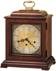 0-003267>Samuel Watson Mantel Clock Windsor Cherry
