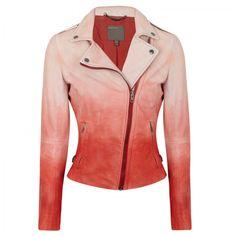 Muubaa Degradé leather jacket