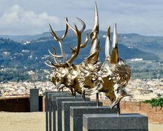 jan fabre spiritual guards florence italy detial of 'series: chapters I-VIII' photo by mauro sani, image courtesy of associa