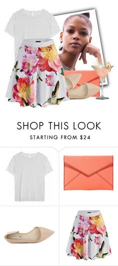 """""""Nice Floral Print + Polka"""" by tasha1973 ❤ liked on Polyvore featuring Dolce&Gabbana, Rebecca Minkoff, BCBGeneration and Beautiful People"""