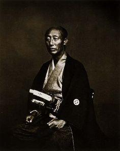 Governor of Nagasaki, ca. 1883 by Felice Beato
