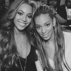Sister love Beyonce & Solange