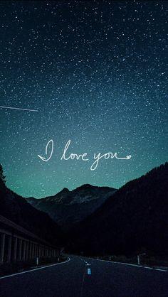 Resultado de imagen para frases de amor con fondos de galaxia