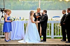 Waterfront Wedding at The Boathouse at Sunday Park - photo by Gwendolyn Tundermann Photography