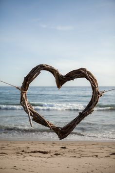Romantic, Sun-Filled Wedding At Dos Pueblos Ranch I Love Heart, Happy Heart, Grateful Heart, Heart Pictures, Heart Images, Beach Wedding Inspiration, Wedding Ideas, Beautiful Nature Pictures, Beautiful Things