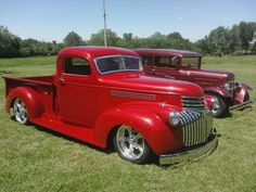 pics of hot rod 46 chevy trucks | Hot Rods & Cool Customs