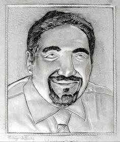 ArteyMetal: Retrato de Josep