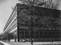 When Ludwig Mies van der Rohe left his native Germany for Chicago in 1938, the world of modern architecture was forever changed. Mies left the influential Bauhaus school to take a position at the t...