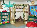 my 5th grade classroom was designed around a jungle theme