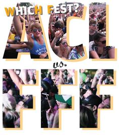 ACL vs. Fun Fun Fun: Infographic: Which music fest is best for you? - Music Blog - The Austin Chronicle