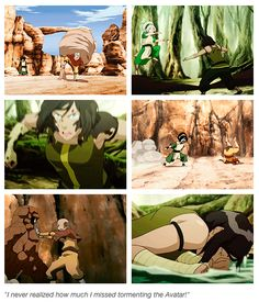 It was only Aang, but it still brings back fond memories for us all.