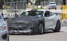 The Spy Photo Of 2018 Ford Mustang Shelby GT500 - https://musclecarheaven.net/check-2018-ford-mustang-shelby-gt500/