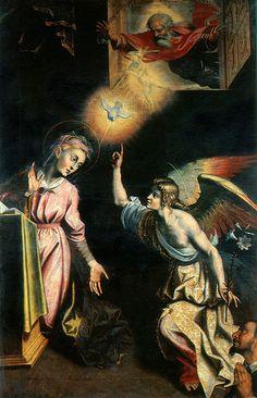 Giovanni de Gregorio, detto il Pietrafesa, Annunciazione della Vergine, 1612, Potenza,