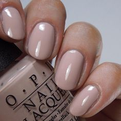 """OPI """"Tiramisu for Two"""" The perfect nude. Gel nails, gel polish, manicures"""