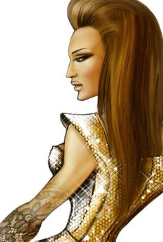 Beyonce I Am... World Tour Sketches