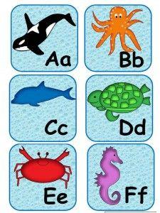 Ocean Friends Alphabet