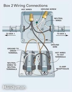 wiring diagram for a series of receptacles agnes gooch pinterest rh pinterest com understanding electrical wiring colors Understanding Electrical Schematics