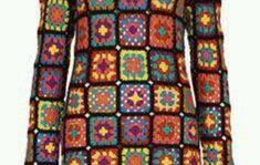 Good quality and unique pieces of clothing. Crochet Coat, Crochet Granny, Hand Crochet, Crochet Vintage, Afghan Dresses, Hooded Scarf, Gypsy Skirt, Long Scarf, Wool Cardigan