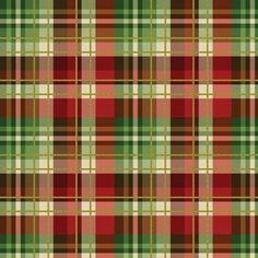In the Beginning Magic of Winter Scotch Plaid