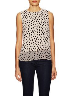 $119 Leopard Dot Layered Top by kate spade new york at Gilt