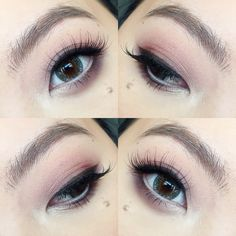 Soft and romantic makeup