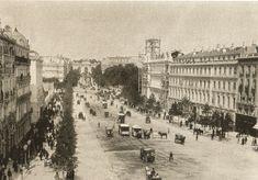 Imágenes del viejo Madrid. Parece mucho más habitable que el actal
