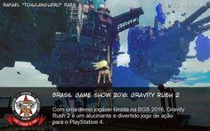Brasil Game Show 2016: Gravity Rush 2 - Com uma demo jogável tímida na BGS 2016, Gravity Rush 2 é um alucinante e divertido jogo de ação para o PlayStation 4. #BGS #BGS2016 #GravityRush #GravityRush2