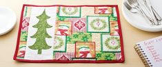 OLFA® | Christmas in July – Quilted Placemats