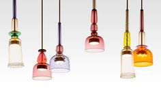 """""""I Flauti Lights by Giopato & Coombes at Maison & Objet 2015 