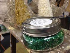 EMERALD CITY super sparkly German Glass Glitter from The Couture Collection!(TM)