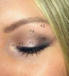 """Start with """"Trick"""" on your inner half of your lid.Next, add """"Burnout"""" on the outer half of your lid. Apply just a bit of """"Strange"""" on your brow bone.Blend """"Nooner"""" into your outer/upper (whatever you wanna call it) crease, blend it right below the brow bone!Tap """"Dust"""" into the inner corners of your lids to give them a nice lustrous shine! Carefully apply """"Blackheart"""" into the outer corner and inner crease creating that angle off the eye"""