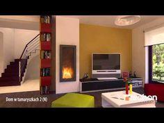 Dom w tamaryszkach 2 (N) - Wirtualny spacer po wnętrzu, projekt ARCHON+ Mobile Home, Tiny Living, First Home, Tiny House, Small Spaces, Villa, Stairs, Storage, Design
