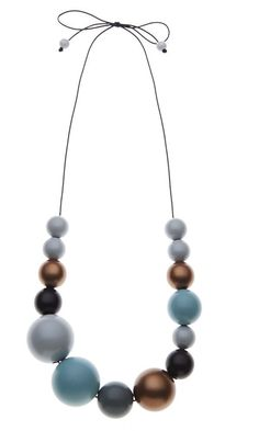 House of Kami Seaside Cove Beaded Necklace by Kristina Klarin | LEIF