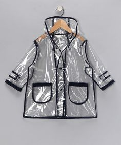 transparent infant raincoat! #zulily