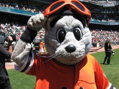 Lou Seal, San Francisco Giants' mascot