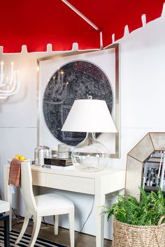 Joy Moyler Interiors designed this vignette for 2018 Housing Works Design on A Dime vignette!