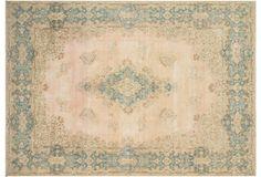 """Persian Distressed Carpet, 10'8"""" x 15'5"""""""