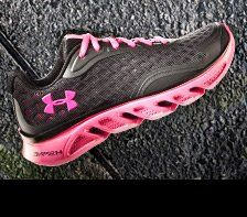hot pink under armour shoes