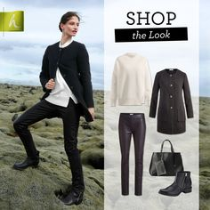 hessnatur - black and white look