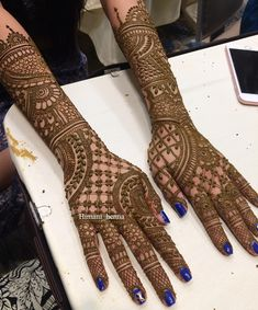 Latest Bridal Mehndi Designs Collection 2018 2019 For Wedding Brides